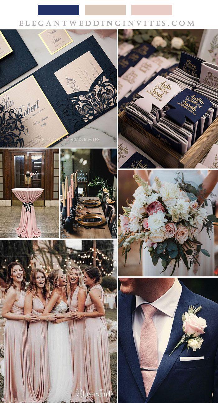 5 bonitos colores de boda inspirados en el nuevo corte de láser plegado en tres vueltas de EWI