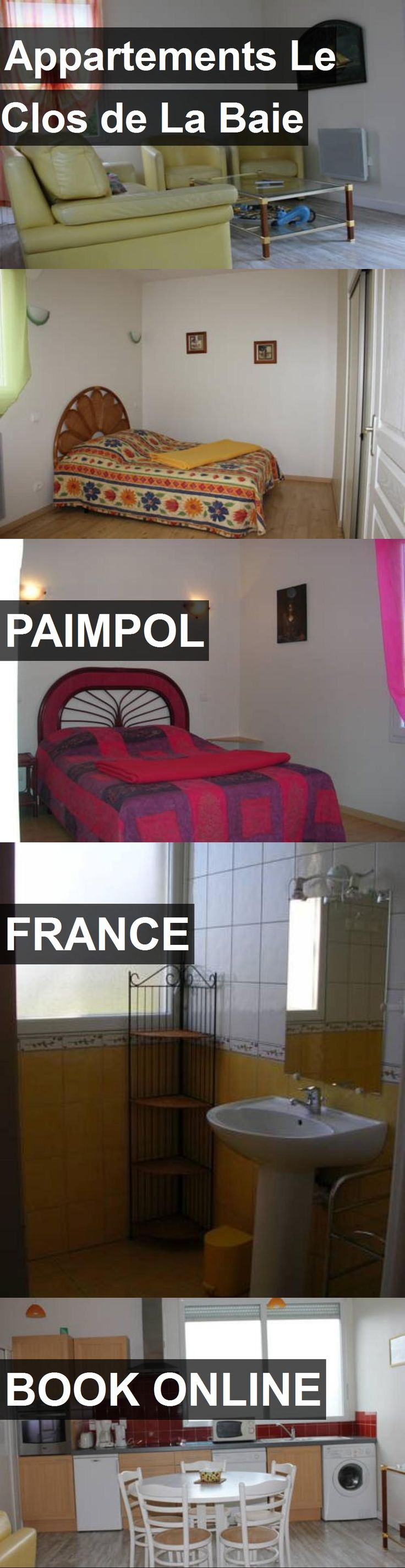 Hotel Appartements Le Clos de La Baie in Paimpol, France. For more information, photos, reviews and best prices please follow the link. #France #Paimpol #travel #vacation #hotel
