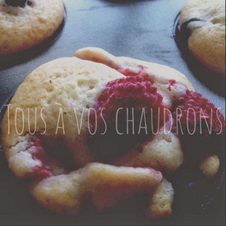 Tous à vos chaudrons: Muffins explosion de fruits