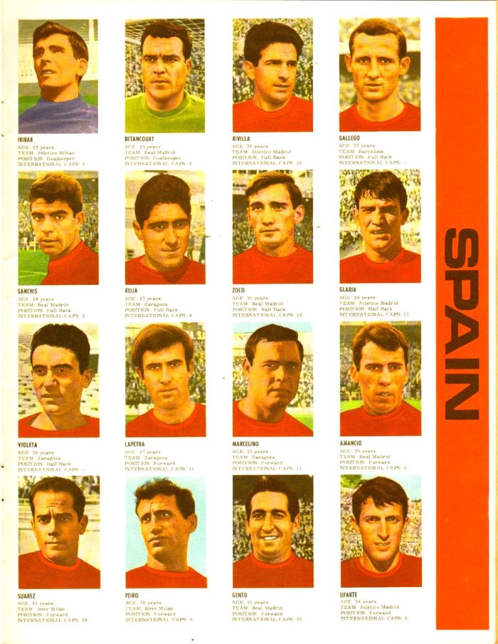 Spain - World Cup 1966