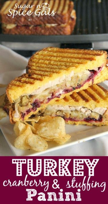 Turkey Cranberry & Stuffing Panini