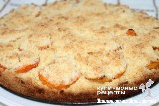 Насыпной пирог с абрикосами, sladkaya vypechka i deserty headline pirozhki pirogi