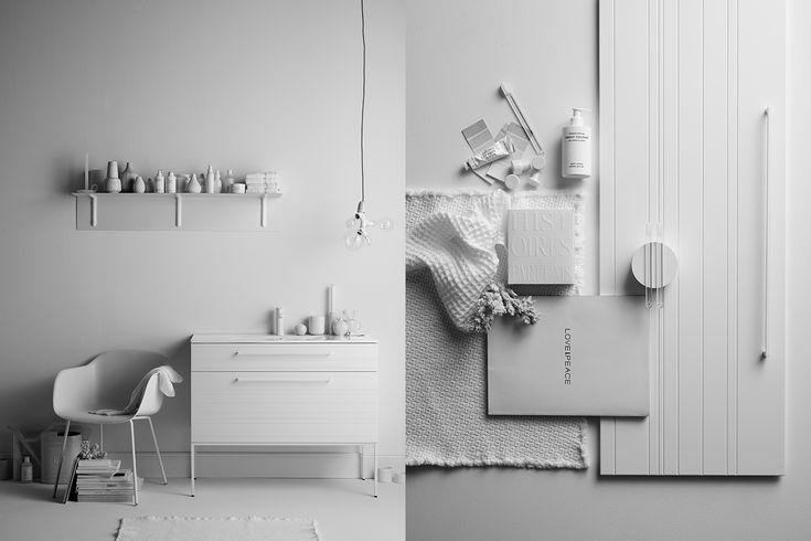 Swoon bathroom cabinets, Lotta Agaton, Kristofer Johnsson, via http://www.scandinavianlovesong.com/
