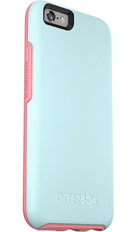 "Stylish & Slim iPhone 6 and iPhone 6s Case | Symmetry Series by OtterBox in color ""Boardwalk"""