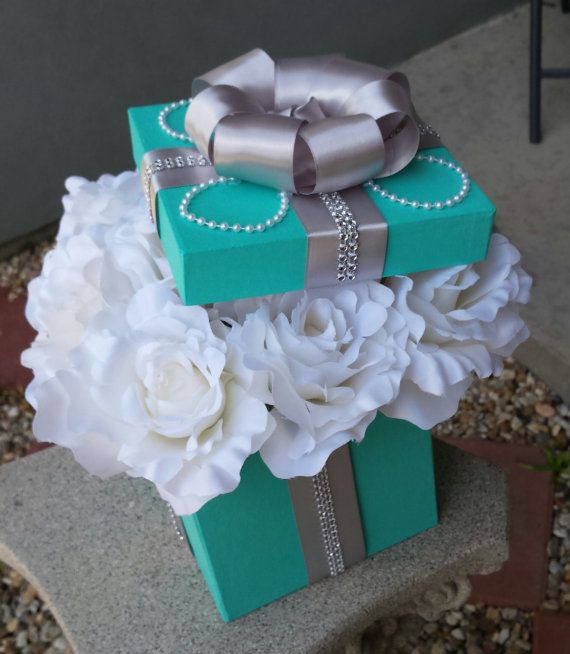 New Tiffany & Co inspired table centerpieces for a by JayLeeDesign