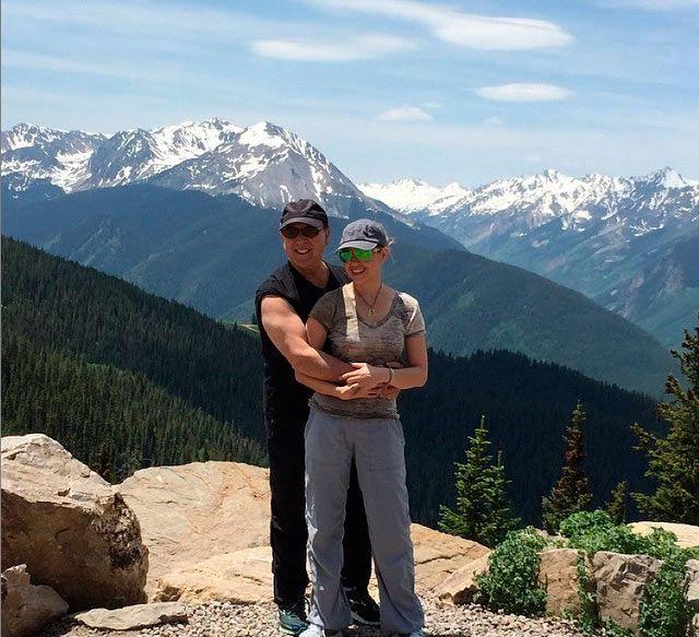 Thalía y Tommy Mottola, amor a 14 mil pies de altura