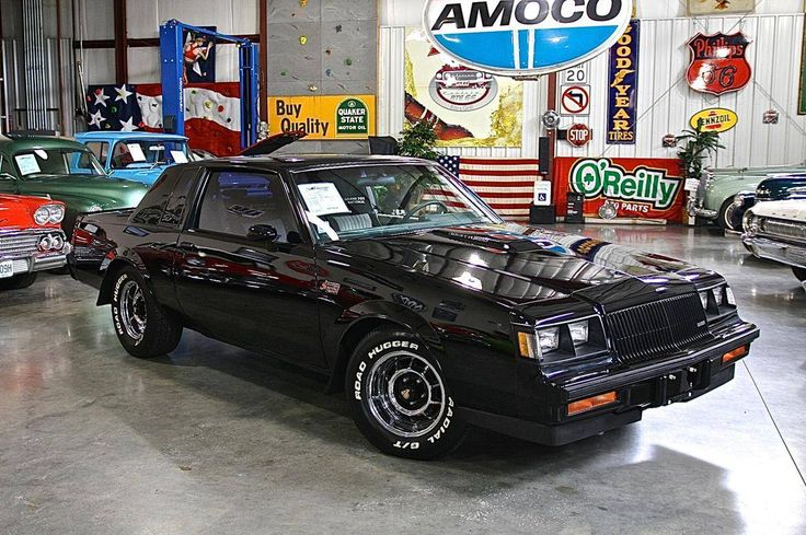 1987 Buick Grand National/one of the all time great cars. http://musclecarfuturefortune.com/