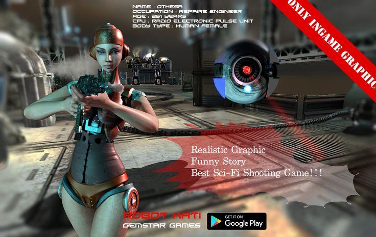 Robot Kati Google mobile game