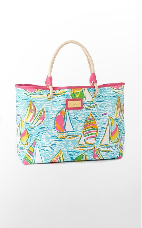 Lilly Pulitzer: All Beaches, Lilly Pulitzer, Totes Bags, Pulitzer Shorelin, Beaches Bags, Lilly Totes, Breakfast At, Summer Essential, Shorelin Totes