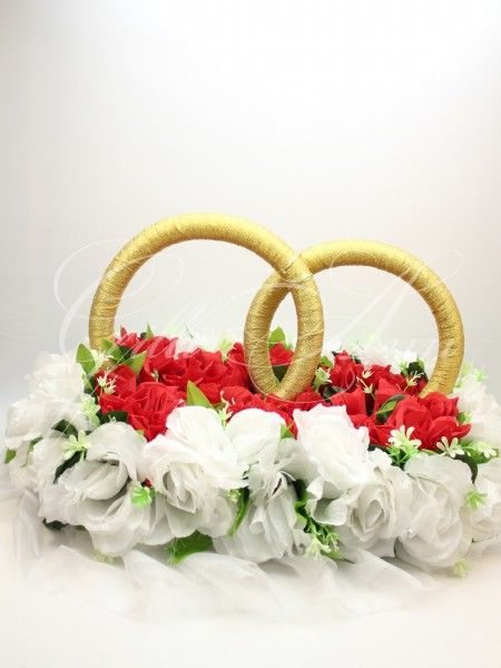 Свадебные кольца на машину с цветами Gilliann CAR024, http://www.wedstyle.su/katalog/katalog/ukrashenija-na-mashinu/kolca-na-mashinu/svadebnye-kolca-na-mashinu-gilliann-6215, http://www.wedstyle.su/katalog/katalog/ukrashenija-na-mashinu/kolca-na-mashinu, wedding ideas, wedding decoration on car