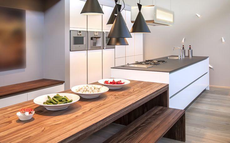 Moderne Keuken Met Eiland : moderne keuken met eiland en eettafel more met eiland kitchen with