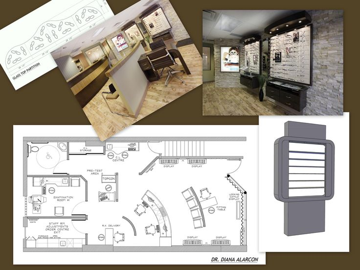 Design Services  Space Planning  Complete Construction Plans  Reflected  Ceiling Plan  Design LayoutsDesign DesignOptometry OfficeWall  66 best Optical Office Design images on Pinterest   Office designs  . Optometry Office Design Services. Home Design Ideas
