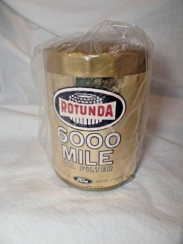 Ford Oil Filter Rotunda 6000 Mile Oil Filter Ford  C1AZ-6731-A  R1-A #Rotunda