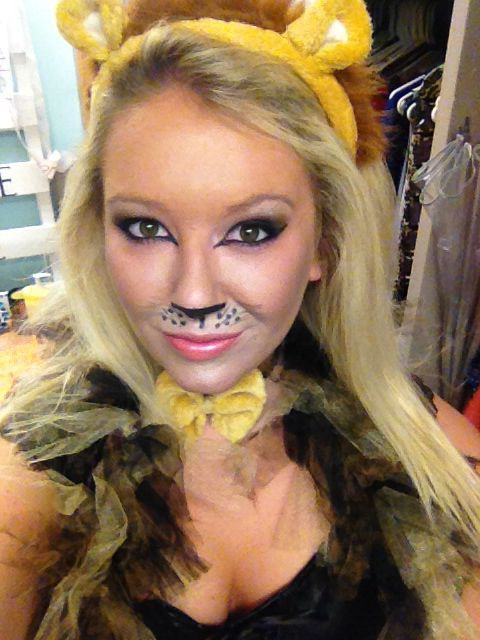 Lion Costume Make Up | My Crafts | Pinterest | Lion Make Up And Lion Costumes