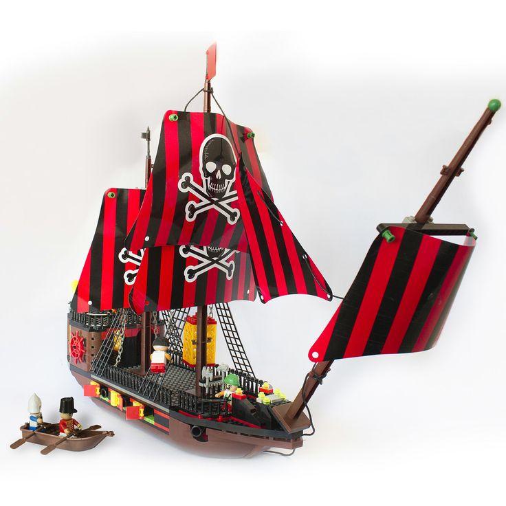 Barco pirata. Kosos.