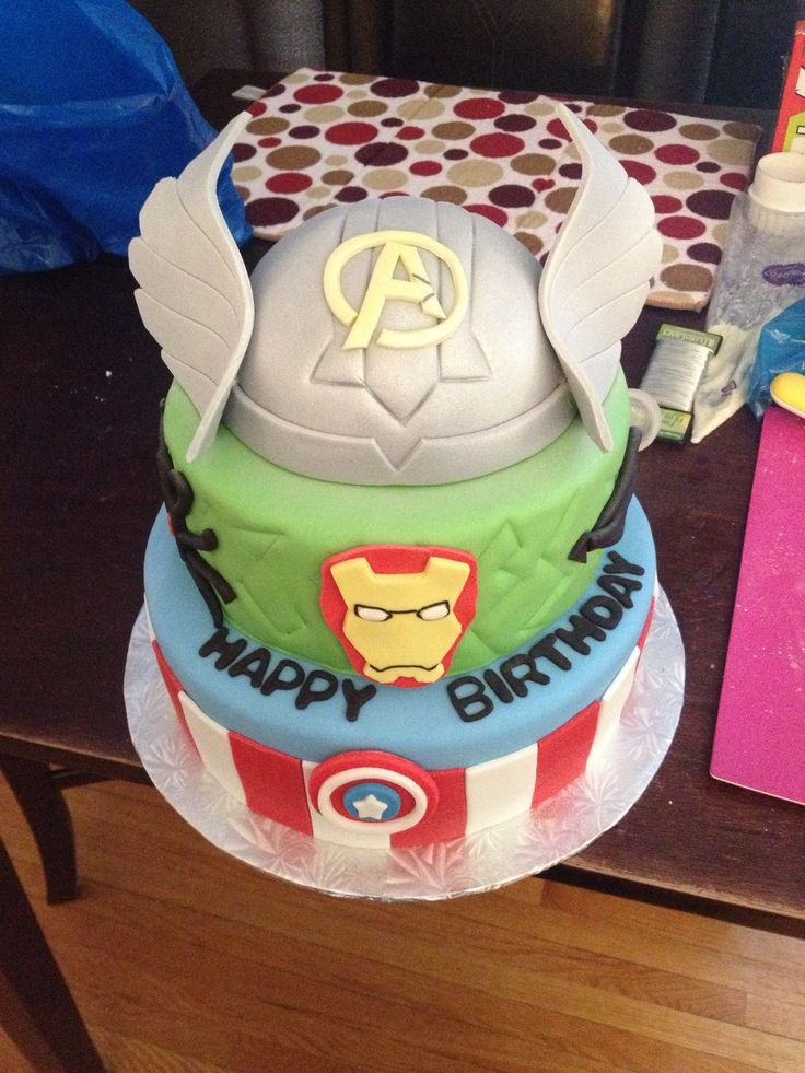 41 best avengers cake images on Pinterest Avengers birthday cakes