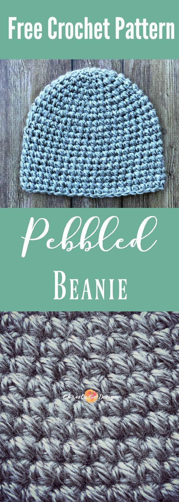 all sizes crochet hat, free crochet hat pattern, free hat crochet pattern, mini bean stitch, mini bean crochet stitch, mini bean stitch hat pattern, pebbled beanie crochet, free hat pattern