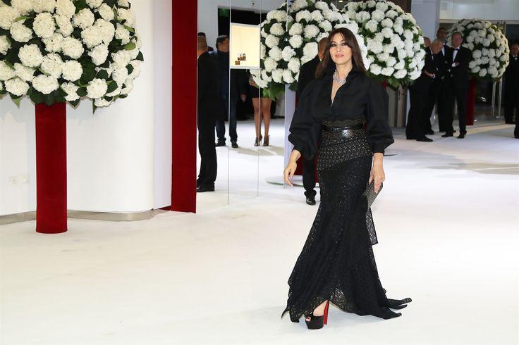 Monica Bellucci al galà della Croce Rossa di Monaco