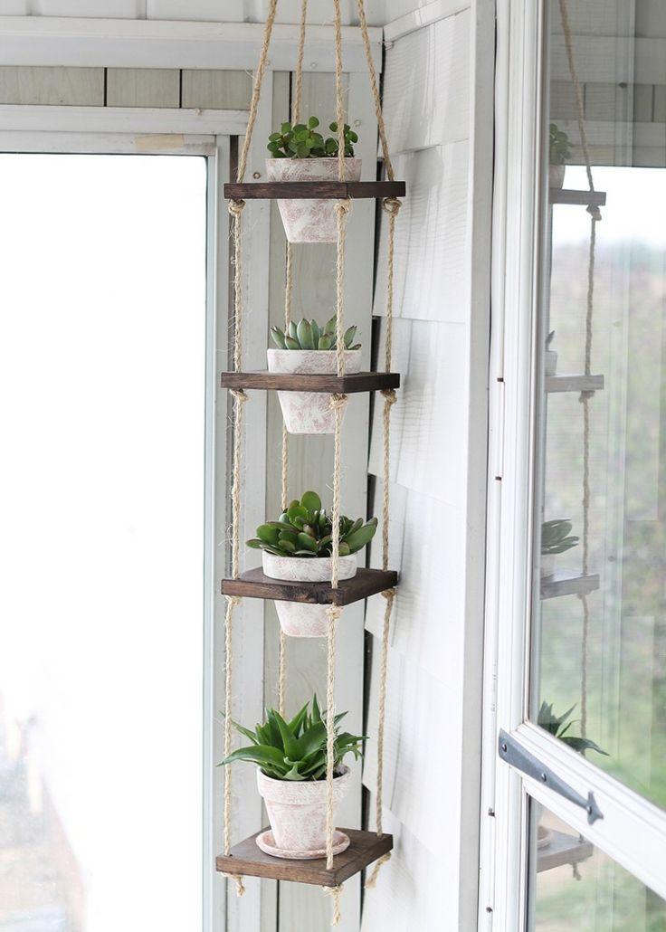 Les 25 meilleures id es concernant plantes en pot sur - Petite boite en bois pas cher ...