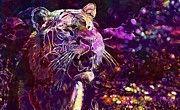"New artwork for sale! - "" Tiger Predator Fur Beautiful  by PixBreak Art "" - http://ift.tt/2tBw313"