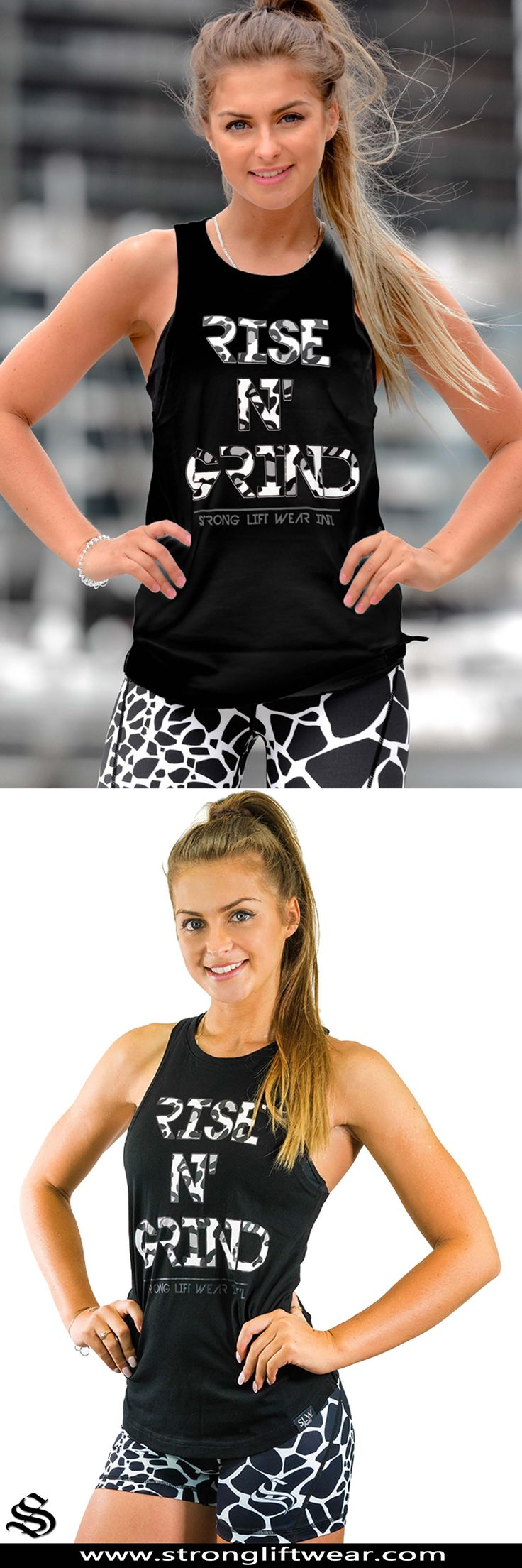 Ladies boulder sleeveless - Rise n' Grind - Black │gym wear │fitness wear │fitness clothing │outfits │workout dress │gym outfits │workout outfits │hoodie │singlets #gymwear #fitnesswear #fitnessclothing #outfits #workoutdress #gymoutfits #workoutoutfits #hoodie #singlets
