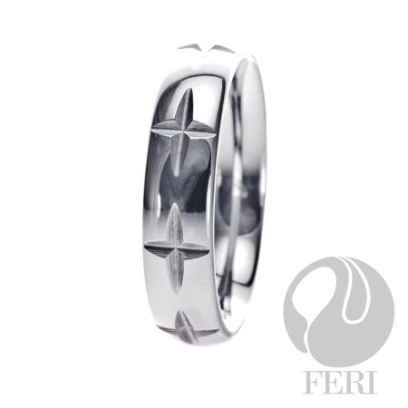 FERI Tungsten - Ring - Tungsten ring - Dimension: 6mm (Width)  FERI Tungsten, Plangsten and Hi-Tech Ceramic collections are unique with deep luster from within. The flawless features and indestructible nature of FERI Tungsten, Plangsten and Hi-Tech Ceramic pieces will create an everlasting beauty and confidence.   www.gwtcorp.com/ghem or email fashionforghem.com for big discount