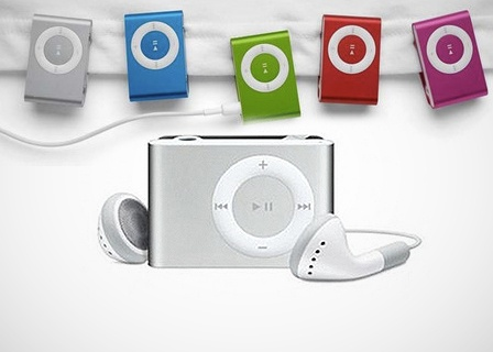 Shuffling MP3 Player (5 Colors) - Save 80% Just $9.99