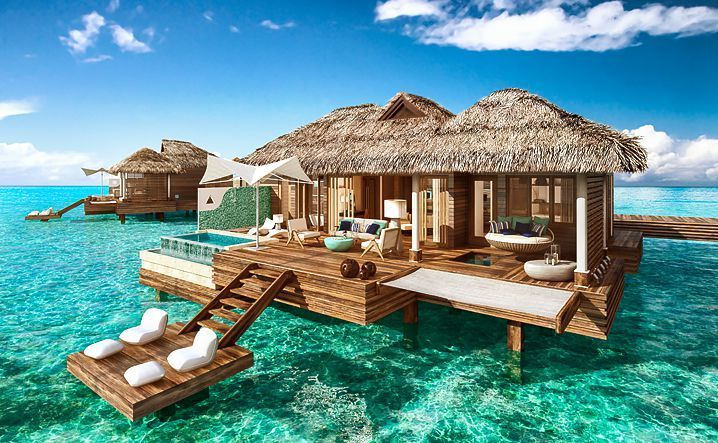 New Overwater Bungalows in the Caribbean Are What Dreams Are Made Of (All-Inclusive) - Dwellosphere