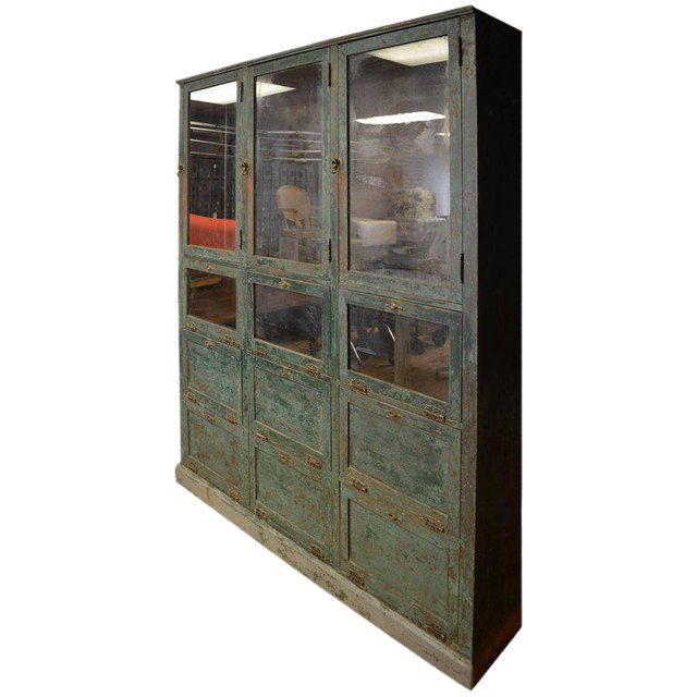 Storage Cabinet Cupboard From Late 1800s Used As Humidor In Small Town Pharmacy Image 1 Of 9 Craftsman Storage Cabinets Vintage Cupboard Cabinet Cupboard