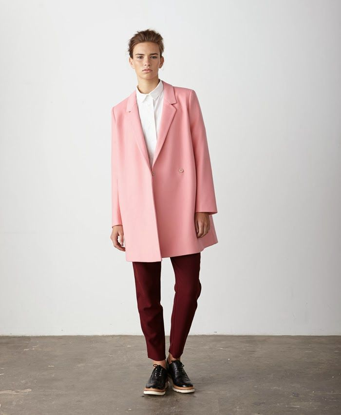 117 best Trend - Pink Coats and Jackets images on Pinterest