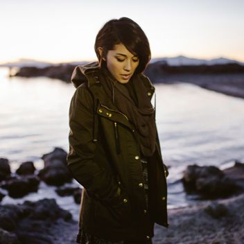 "Glamour.com//Exclusive First Listen: Kina Grannis' New Single ""Dear River"""