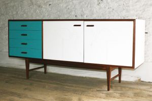 furniture makeover retro sideboard
