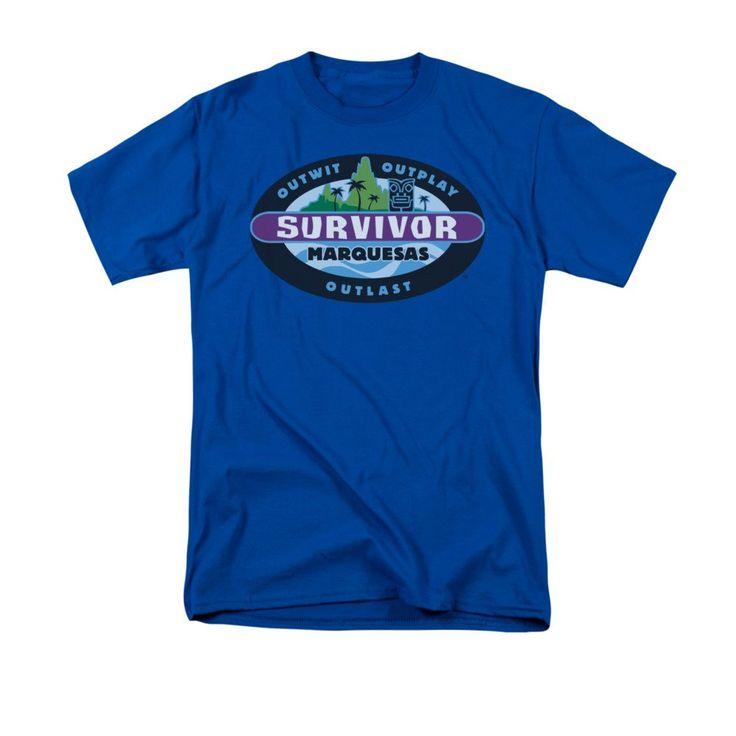 Survivor - Marquesas Adult Regular Fit T-Shirt