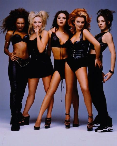 Spice Girls. So obsessed. Had the CDs, the movie, the tee shirts, the gum, the barbie dolls.