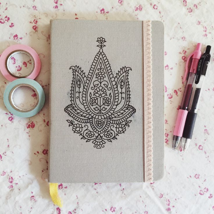 mintsprout: decorated the cover of my bullet... - The Organised Student