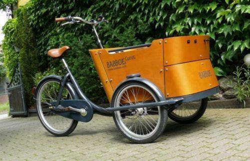 Babboe Curve Lastenfahrrad Bakfiets Vorführrad vom Händler in Moers
