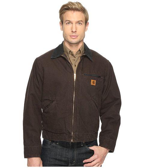 CARHARTT Sandstone Detroit Jacket. #carhartt #cloth #coats & outerwear