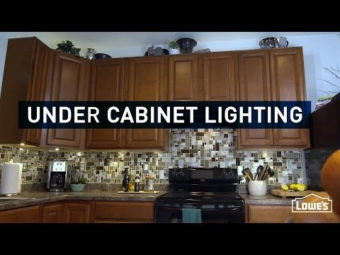 How to Install Under Cabinet Lighting - YouTube