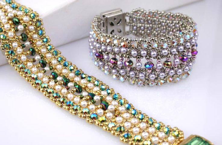 emerald city bracelet bead weaving kit awesome