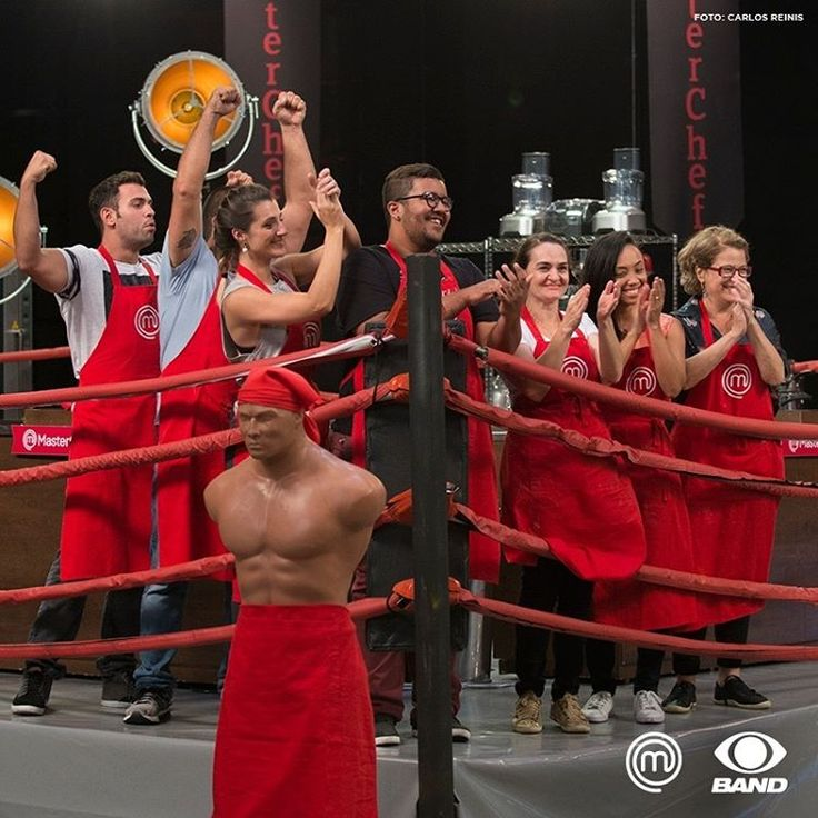 A felicidade estampada na cara de quem subiu no ringue e saiu vitorioso! 🍴 #MasterChefBR #reality #JuntosNaBand  Foto: Carlos Reinis