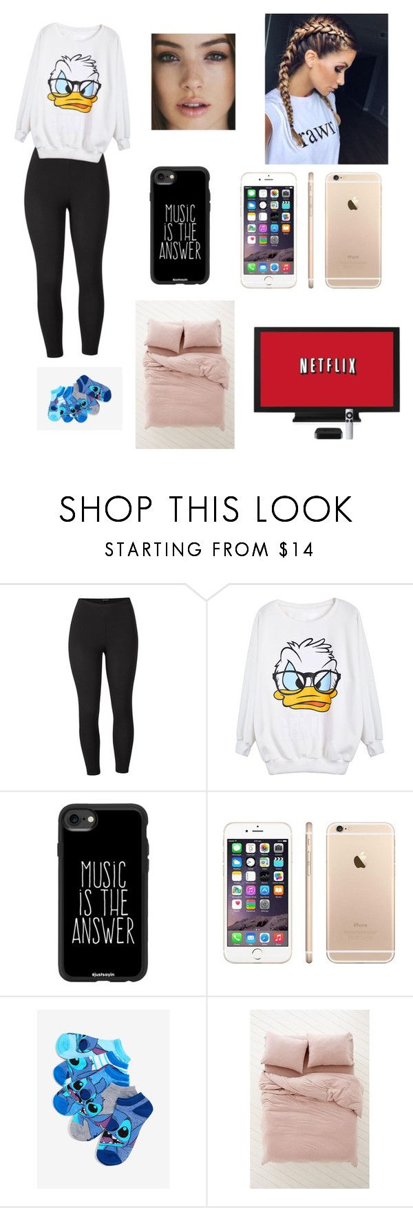 """Untitled #31"" by ameliadrury on Polyvore featuring Venus, Casetify, Urban Outfitters and plus size clothing"