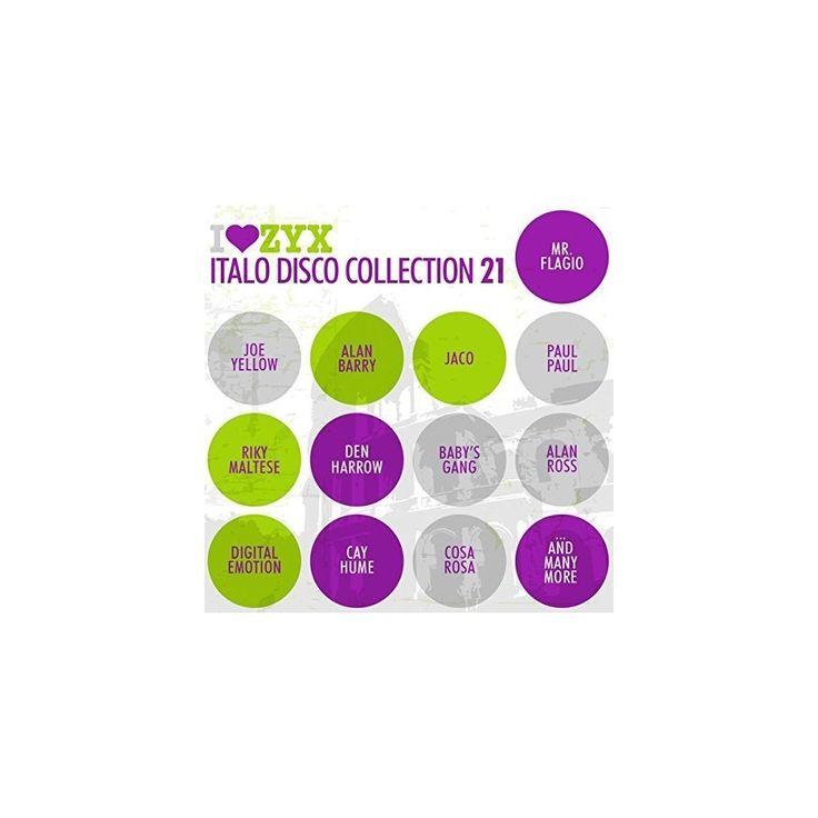 Zyx Italo Disco Collection 21 - Zyx Italo Disco Collection 21 (CD)