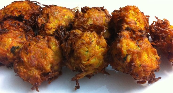 Vegetable Fritters! Gluten free, of course! Check out our video below!