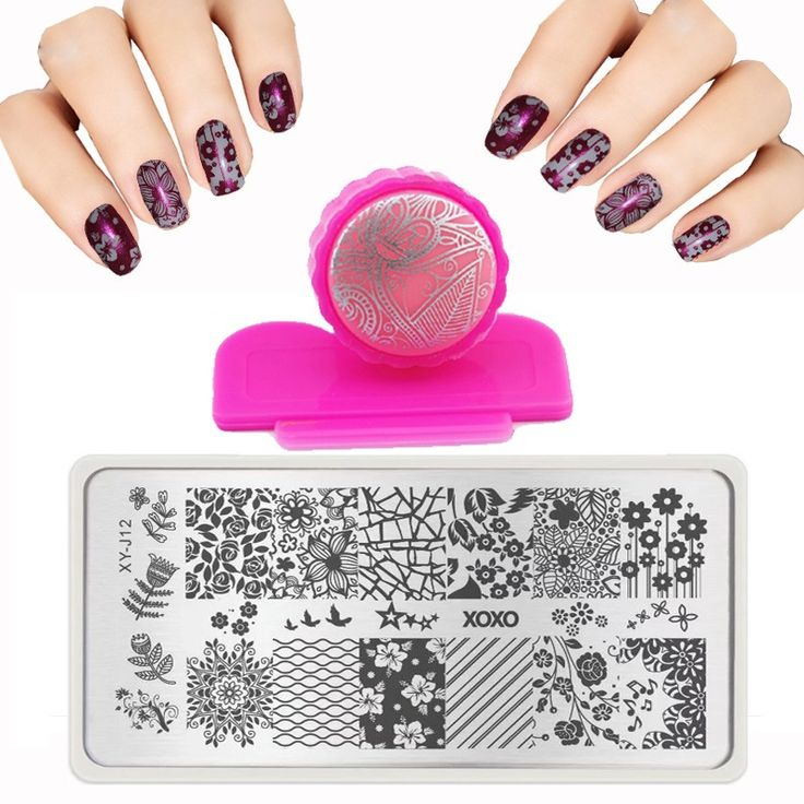 118 best templates images on pinterest ongles stamps and role 6x12cm xyj 32 style series nail art template set accessories lace stainles nail stamping plates solutioingenieria Image collections