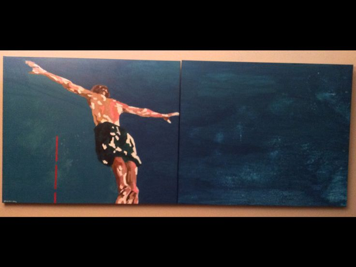 Study Acrylic on canvas  (240x100 cm)