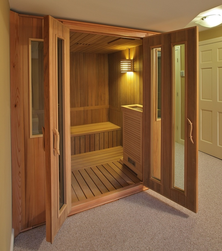 17 best images about home sauna decorating ideas on pinterest for Sauna decoration ideas