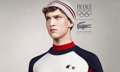 Tenue Lacoste officielle de l'Equipe de France pour les JO 2014