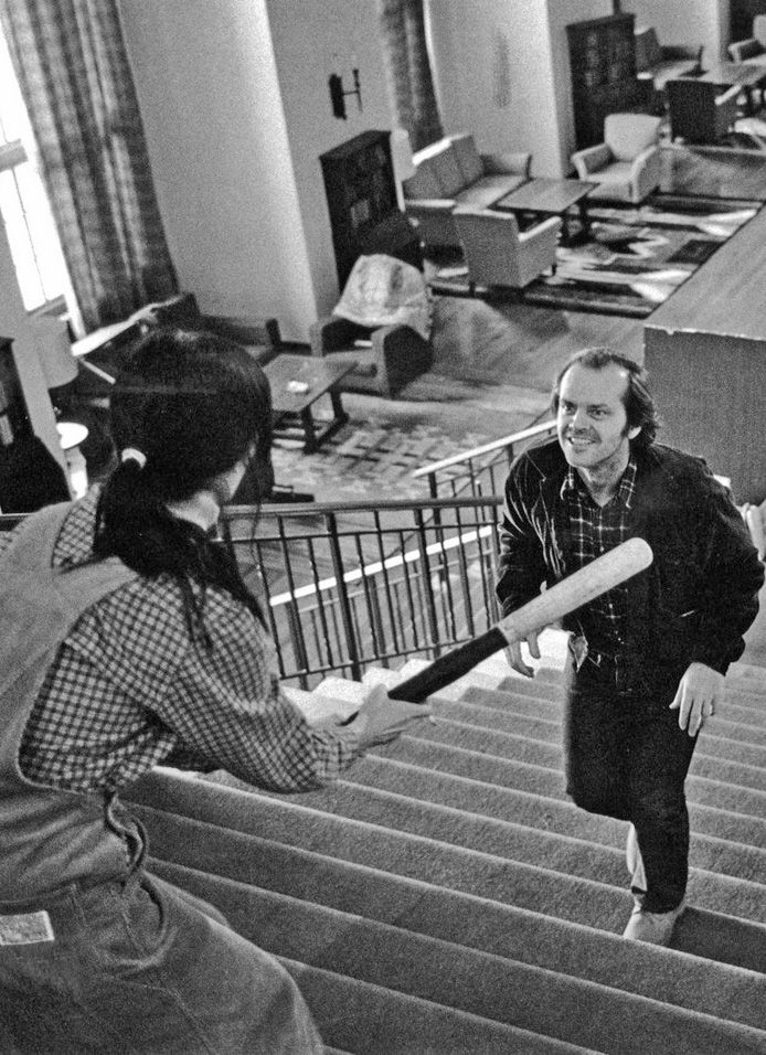 "The Shining. ""I'm not gonna hurt ya! I'm just going to bash your fu*king brains in!"" (My all time fave horror film)"