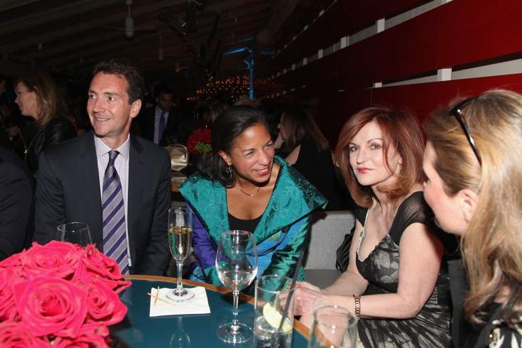 Susan Rice husband is Ian Cameron ex-Exec prod ABC News hanging w/ @nytimes Maureen Dowd