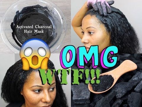 Activated Charcoal Hair Mask! EXTREME HAIR GROWTH